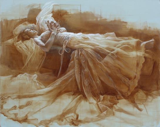 Shauna Finn,Liminal, 2013,oil on canvas,60 x 48 inches